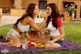 Perfect Lesbian Picnic - Lesbian Porn